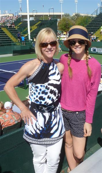 annual indian wells tennis tournament with momma | march 2012.
