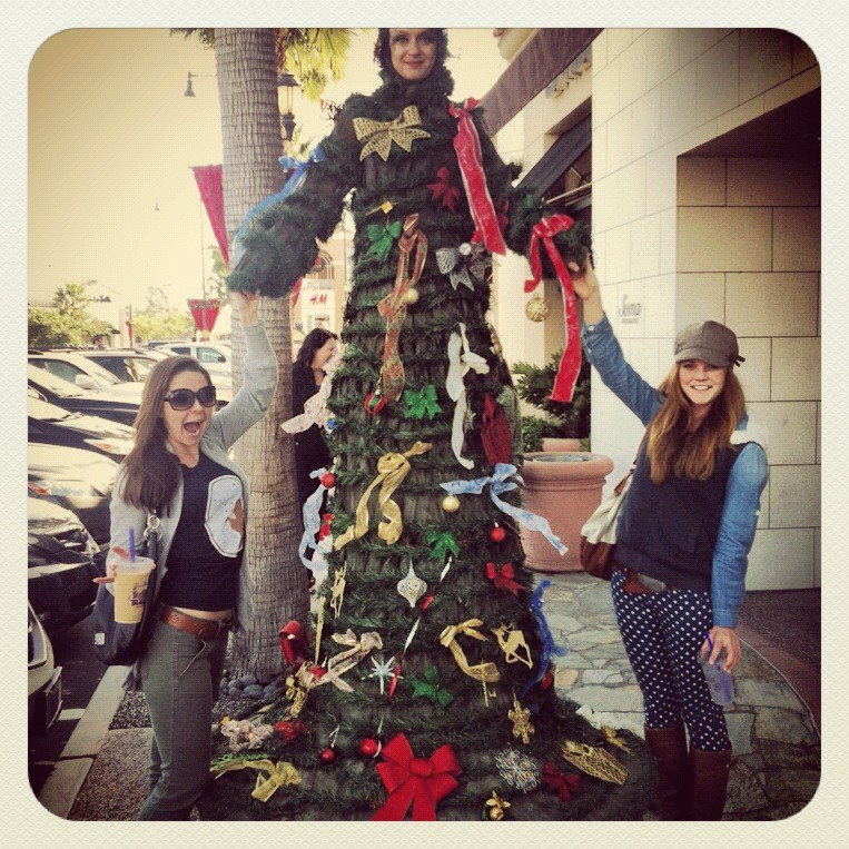 getting in the holiday spirit with K | december 2012.
