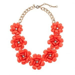 J.Crew Beaded Rose Necklace | $128