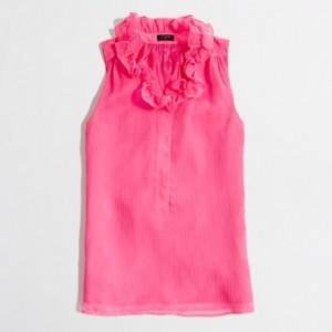 J.Crew Factory Ruffle-Collar Cami | $54.50