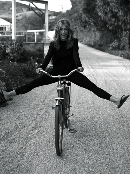Jen on a Bike