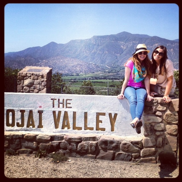 L & me in ojai valley (photo credit: M).