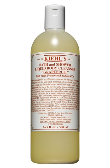 kiehls grapefruit body wash