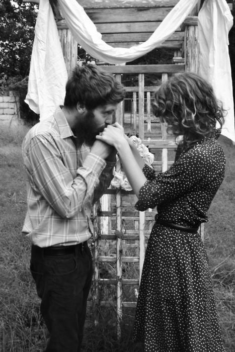 kiss her hand, capture her heart.