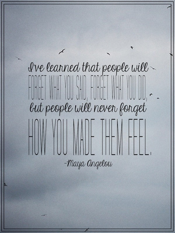 maya angelou wisdom