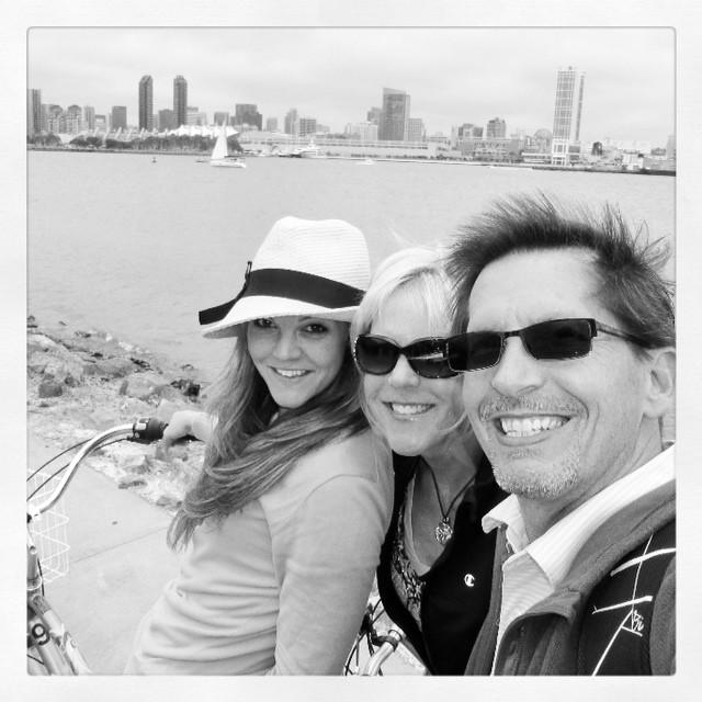 cruisin' coronado with my two favorite people.