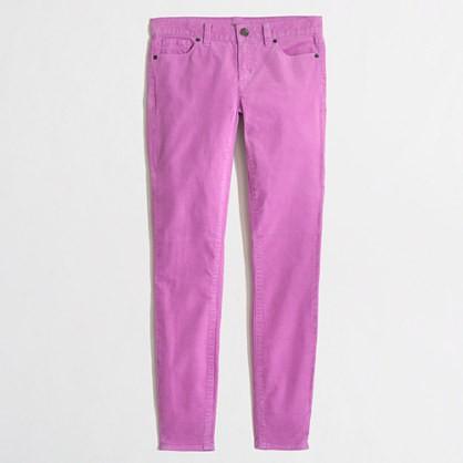 neon violet factory skinny cords.