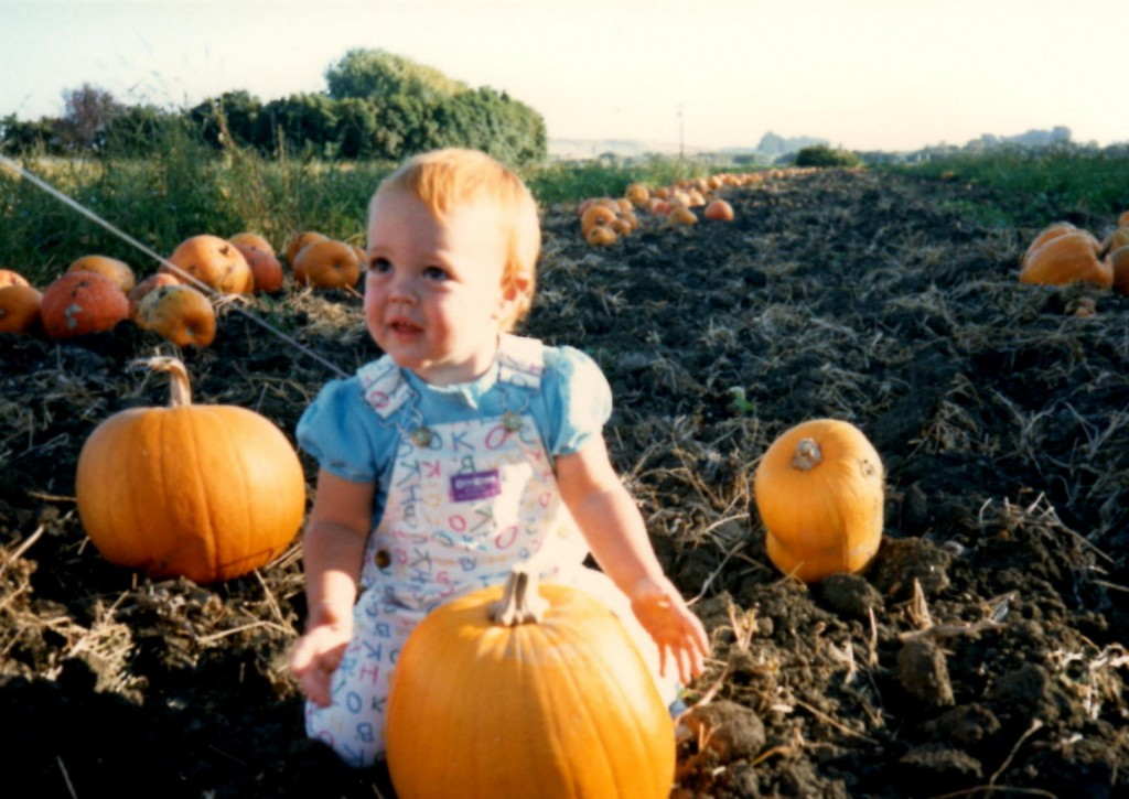 baby shawna at pumpkin patch_cropped