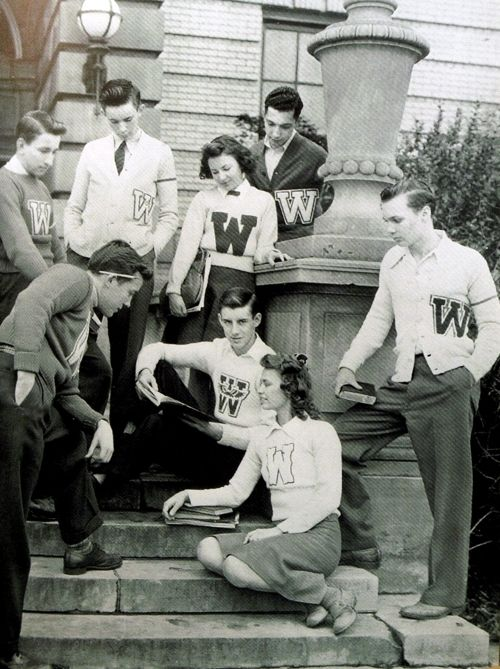vintage college