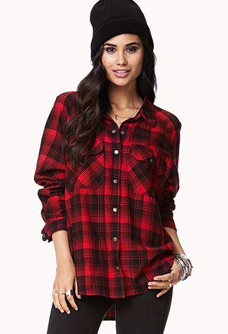 campfire plaid shirt | forever 21 | $22.80