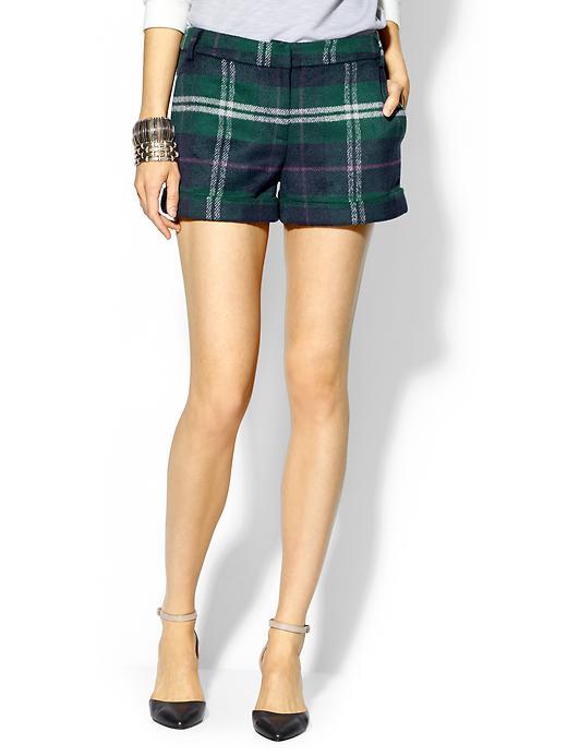 hive & honey cozy plaid shorts | piperlime | $59.00