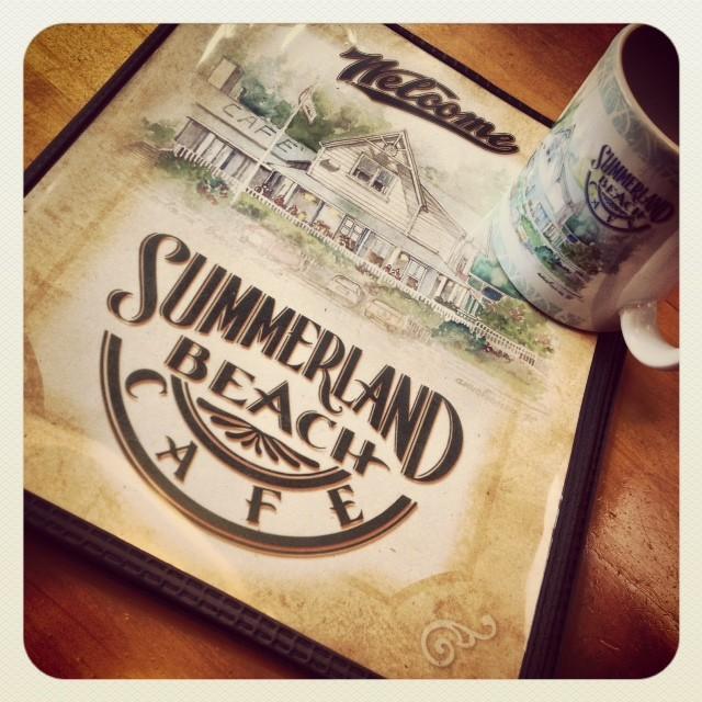 summerland beach cafe.