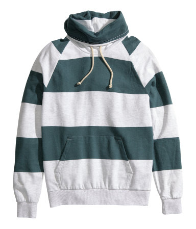 striped sweatshirt | $29.95.