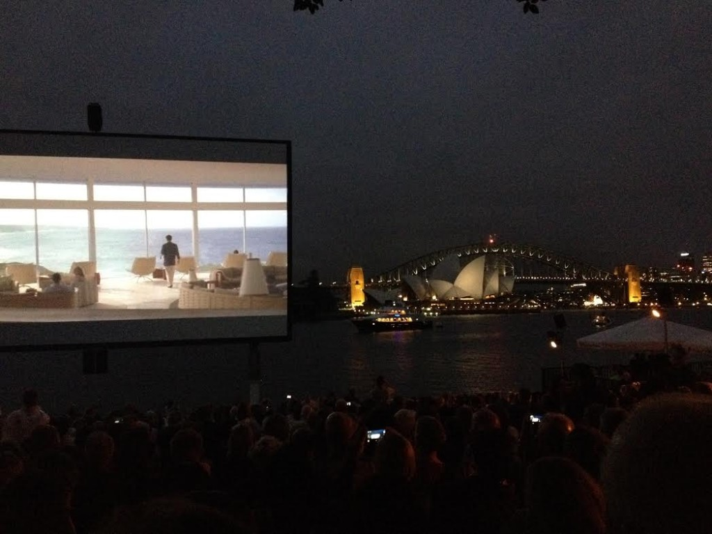 movie night at the harbor