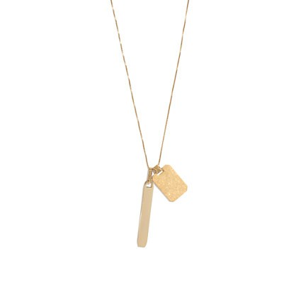 madewell's ensign necklace.