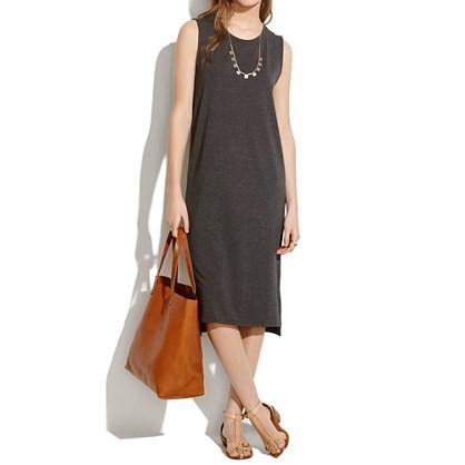 madewell's sleeveless tee dress.