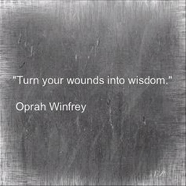 wounds into wisdom