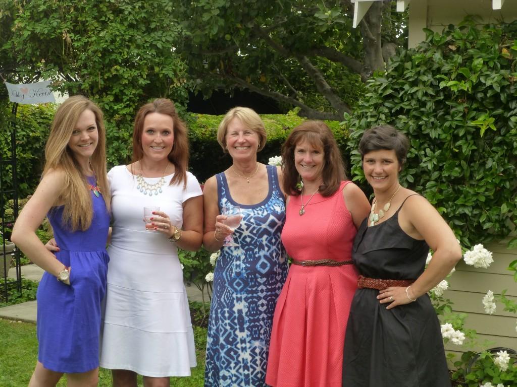 me, A, J, my aunt C & sistah