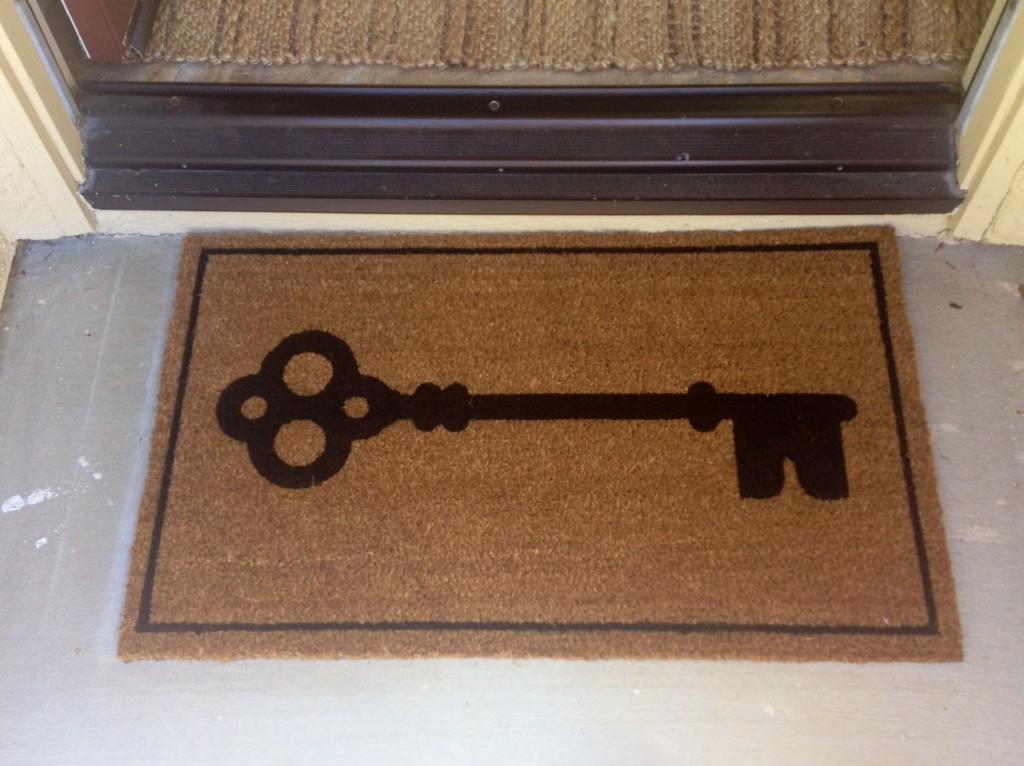 key doormat