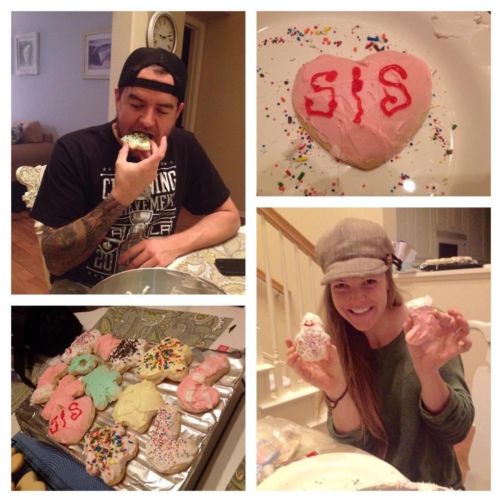 S & S making cookies