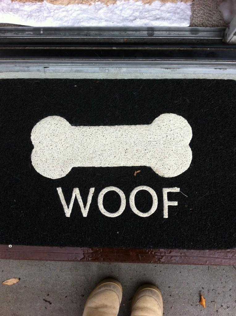woof mat