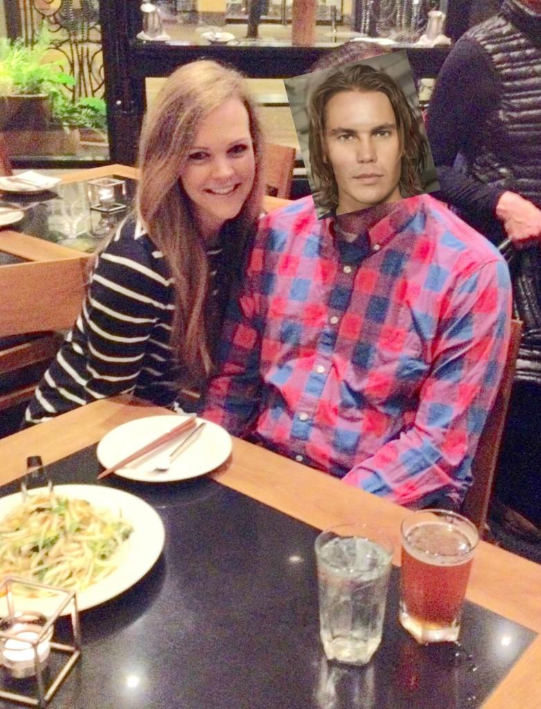 dinner at wild ginger_tim riggins