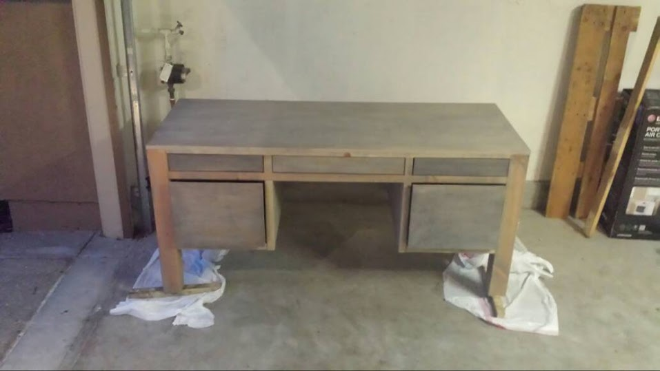 finished dawson desk  it s friday i m in love 1 16 15. Dawson Desk Pottery Barn