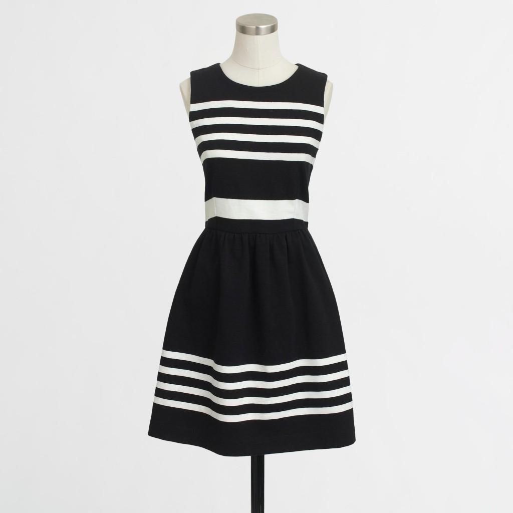 factory_b&w dress