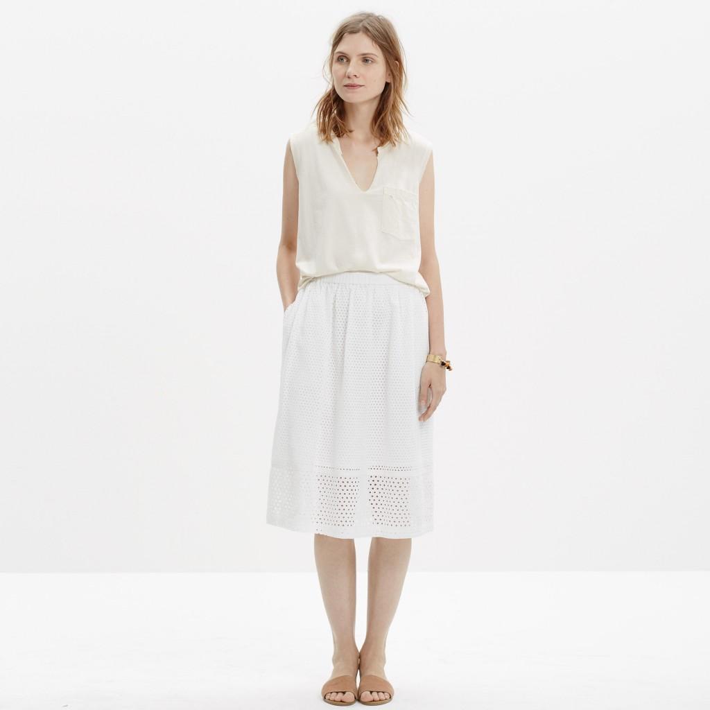 trelliswork skirt
