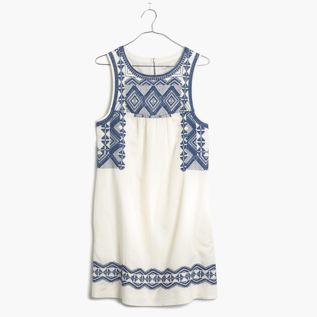 Embroidered Stitchtake Dress