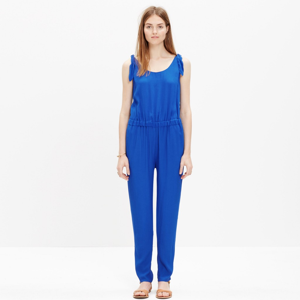 Summer Shoulder-Tie Jumpsuit