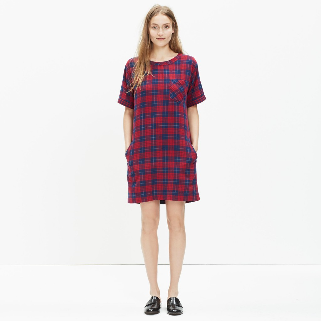 short sleeve dress in edina