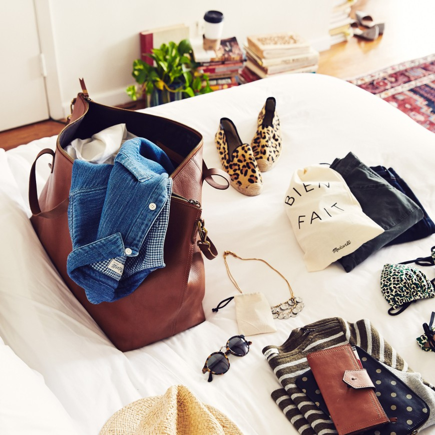 packing madewell