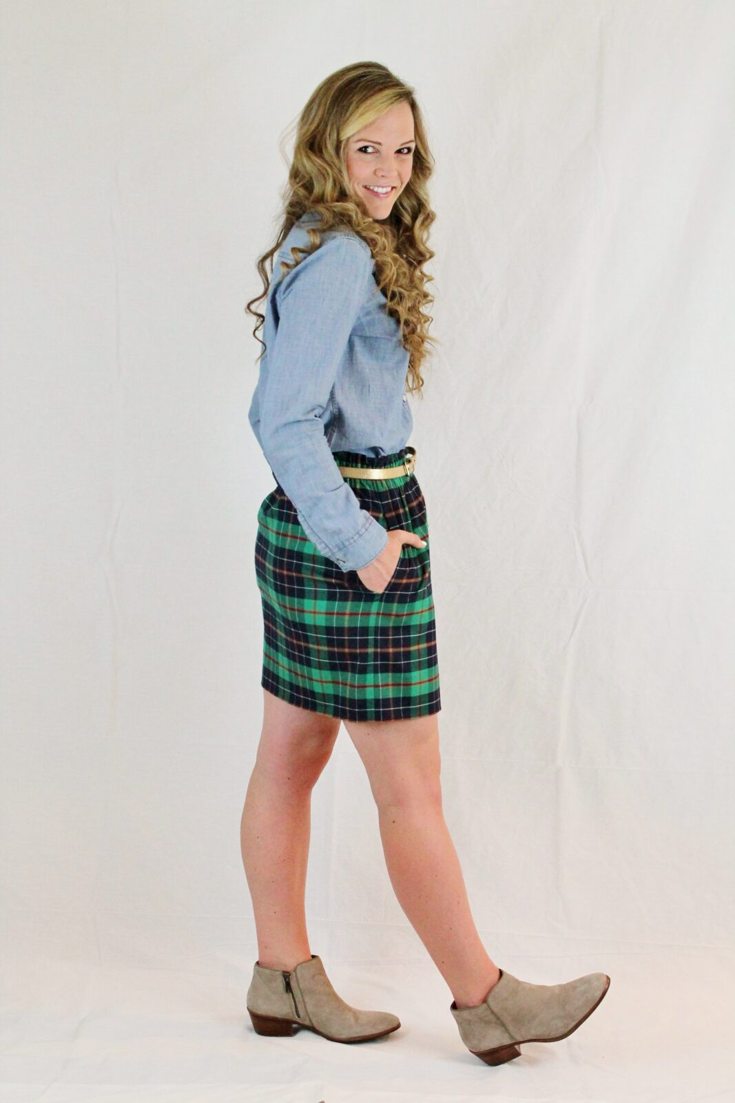 Don T Get Mad Get Plaid Plaid Skirt For Day Amp Play