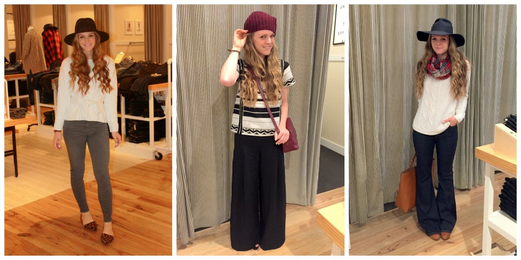 madewell looks collage