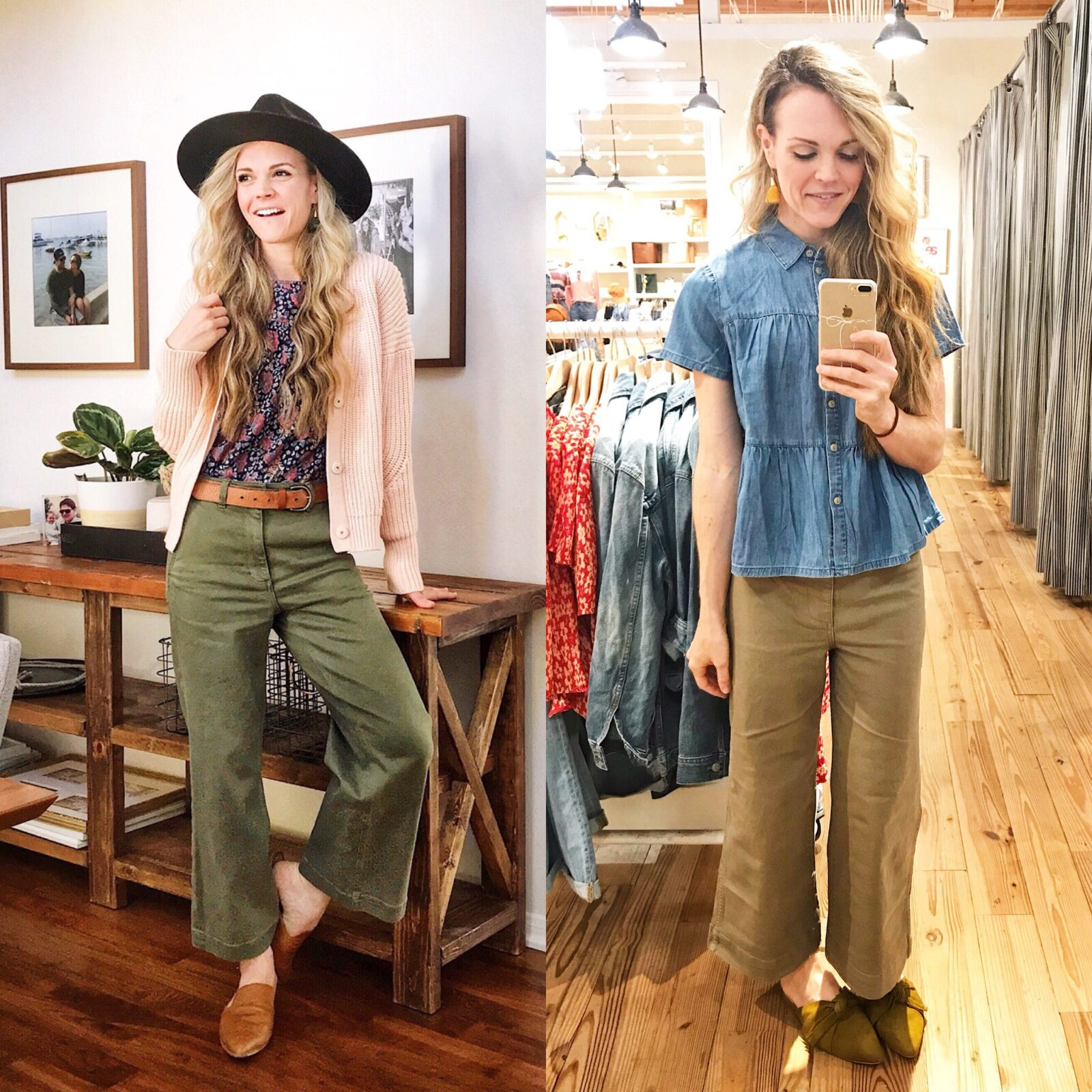 e239897538080 after receiving quite a few direct messages questions regarding the  differences between everlane s wide-leg cropped pant and madewell s similar  version