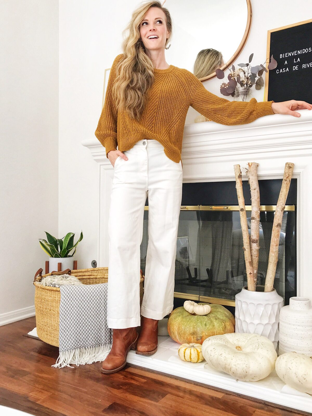 efa30ac715 madewell sweater (small) || everlane wide-leg crop pant (2)*